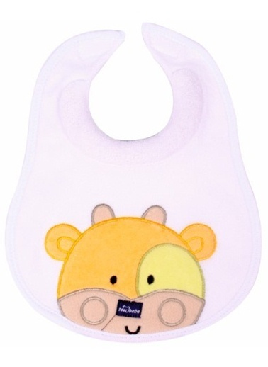 Sevi Bebe Sevi Bebe Ağız Salgı Önlüğü Beyaz